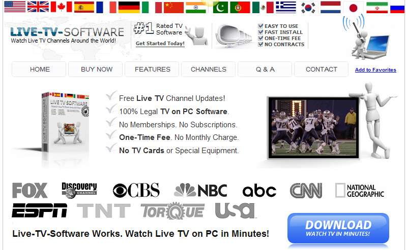 Live TV Software Banner Image