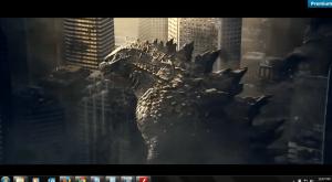 Godzilla Movie - Full Screen