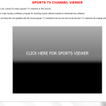 Sports TV Channel Viewer