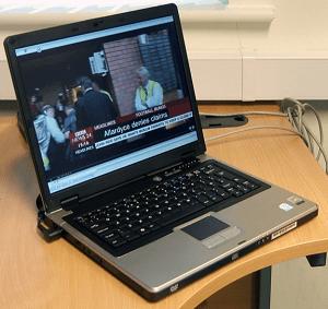 Direct PCTV on Laptop