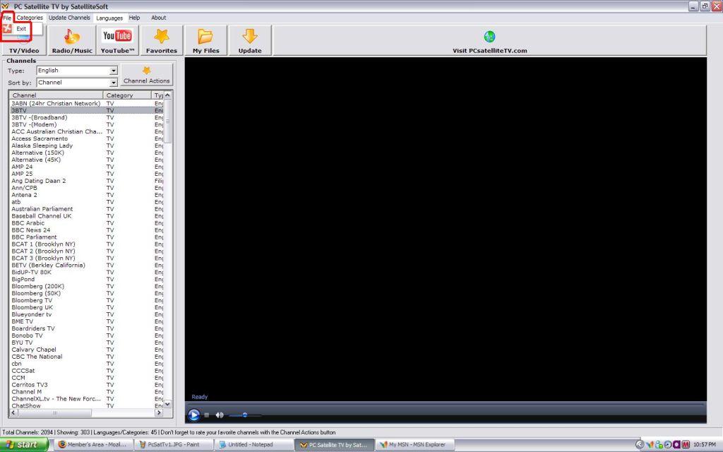 download free Satellite Tv Softwares