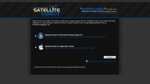 SatelliteDirectTv Choose OS Image