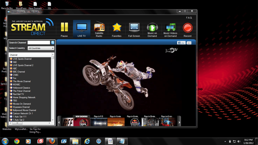 Watch TV Online Software Image